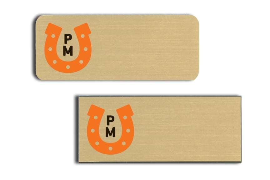 Portland Meadows Name Badges