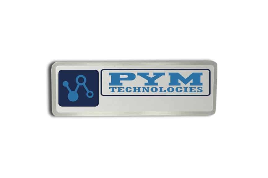 Pym Technologies Name Badges