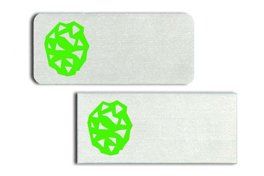 Rock Solid Name Badges