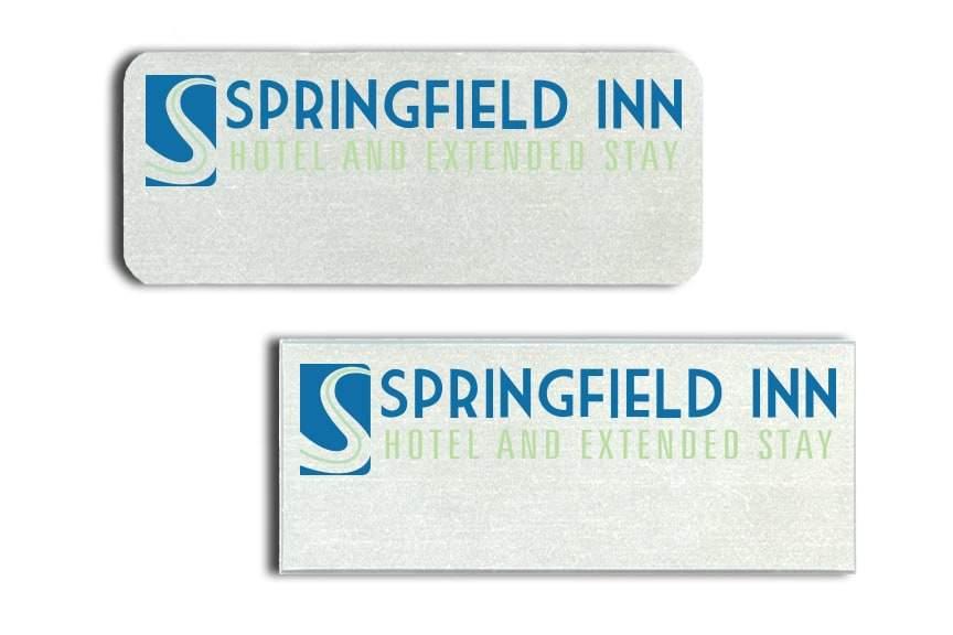 Springfield Inn Name Badges
