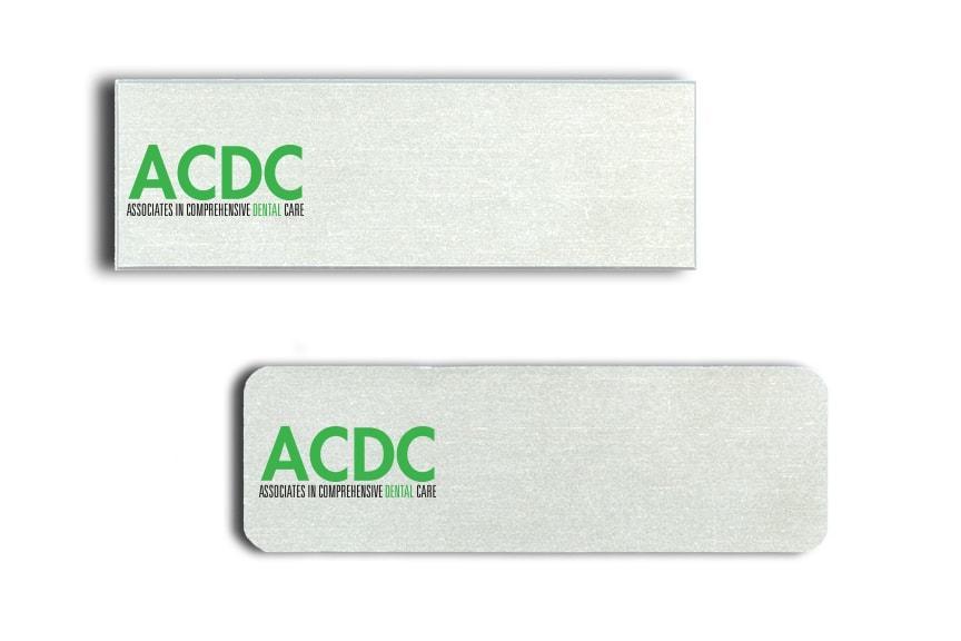 Associates in Comprehensive Dental Care Name Badges