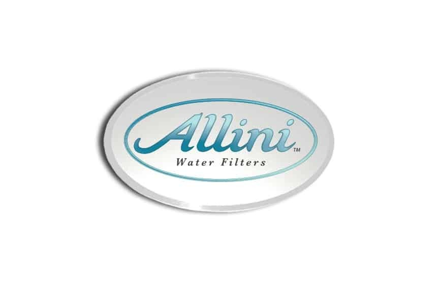Allini Water Filters name badges