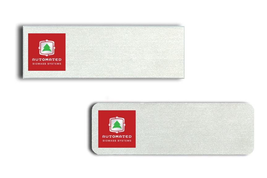 Automated Biomass name badges