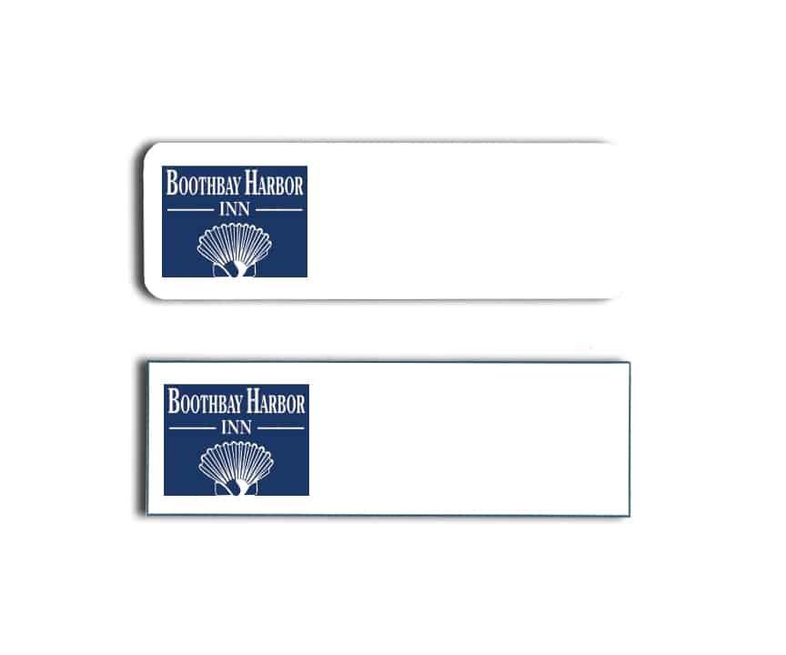 Boothbay Harbor Inn Name Badges