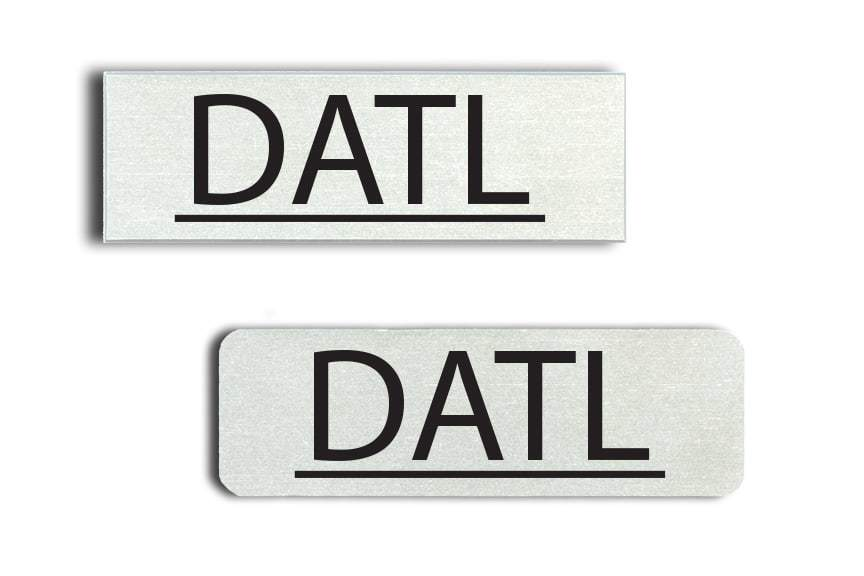 DATL Name Badges
