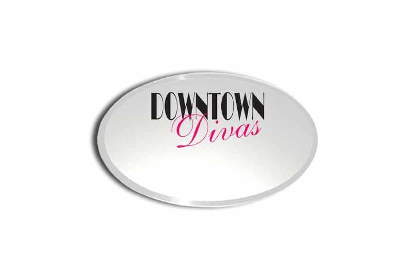 Downtown Divas Name Badges