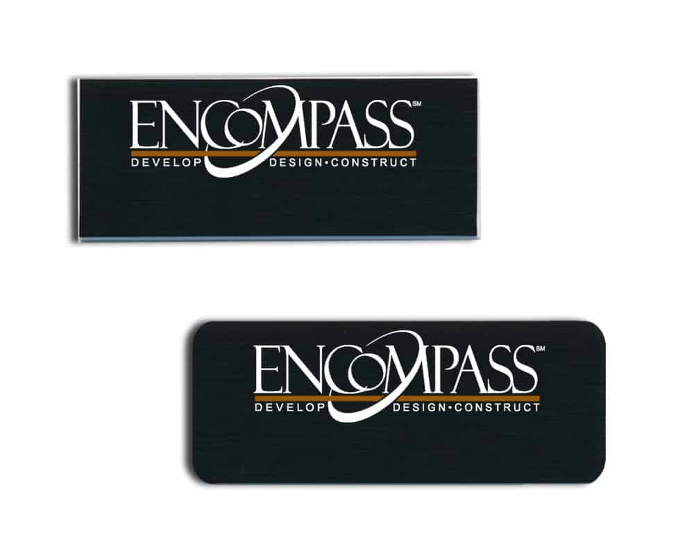 Encompass name badges