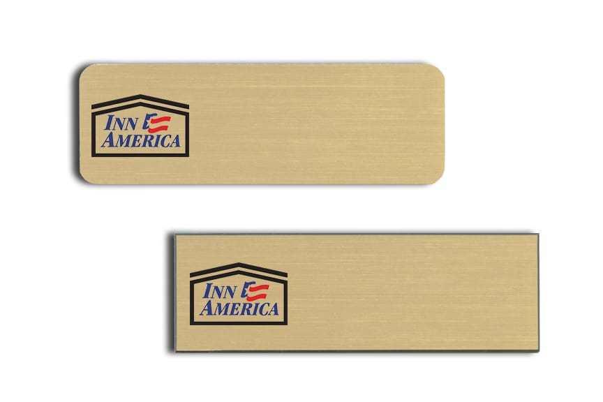Inn America Name Badges