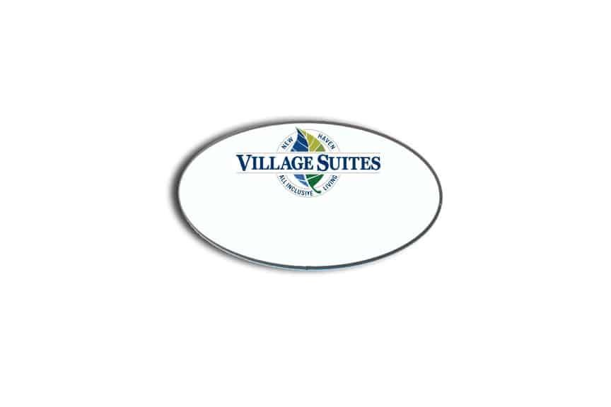 New Haven Village Suites name badges