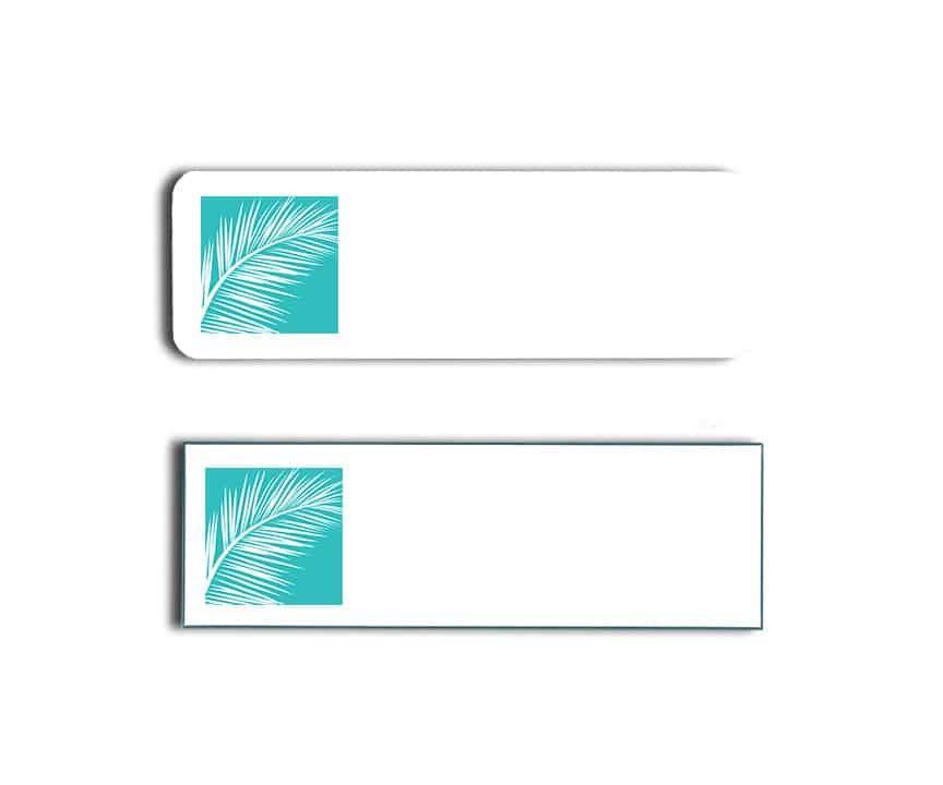 Silver Palms Inn name badges
