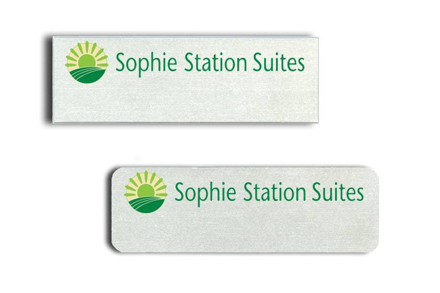 Sophie Station Suites name badges