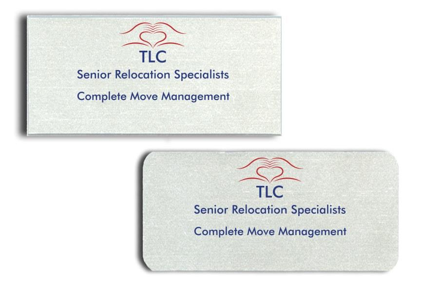 TLC name badges
