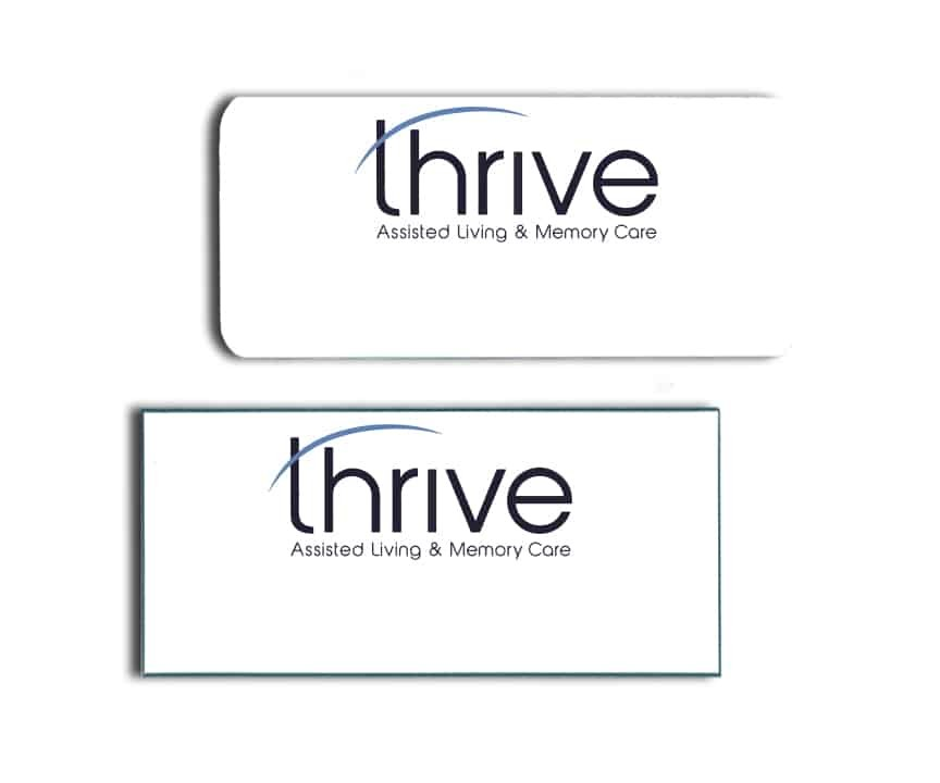 Thrive Name Badges