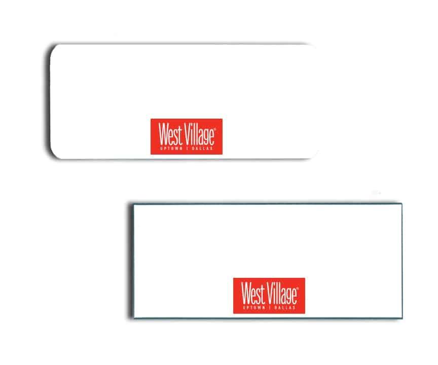 West Village Name Badges