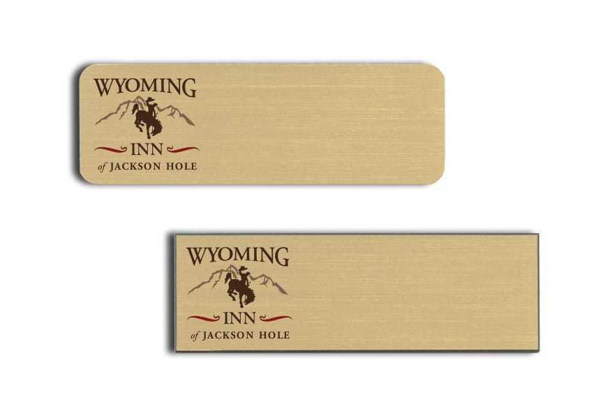 Wyoming Inn Name Badges