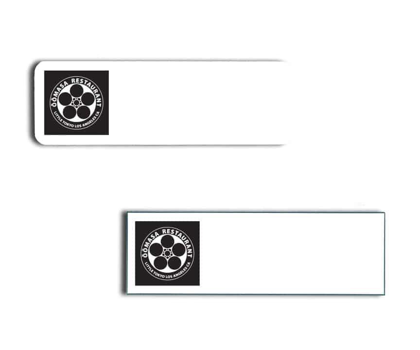 Oomasa name badges