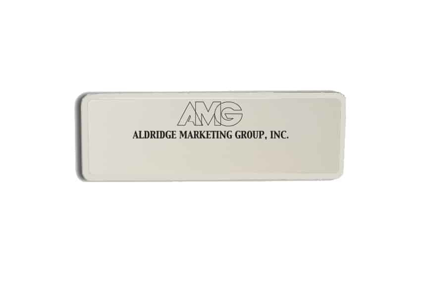 Aldridge Marketing Group Name Badges