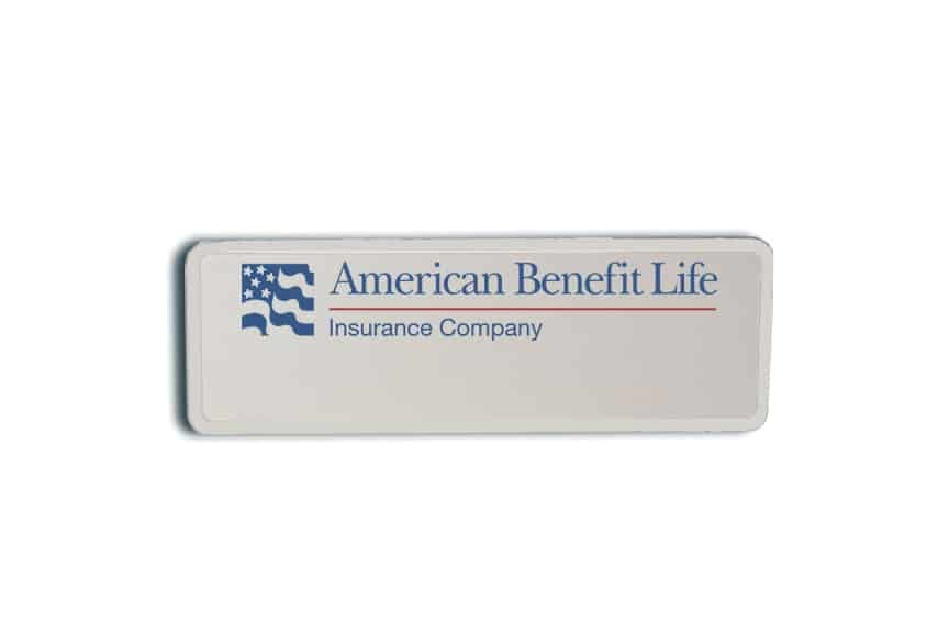 American Benefit Life Name Badges