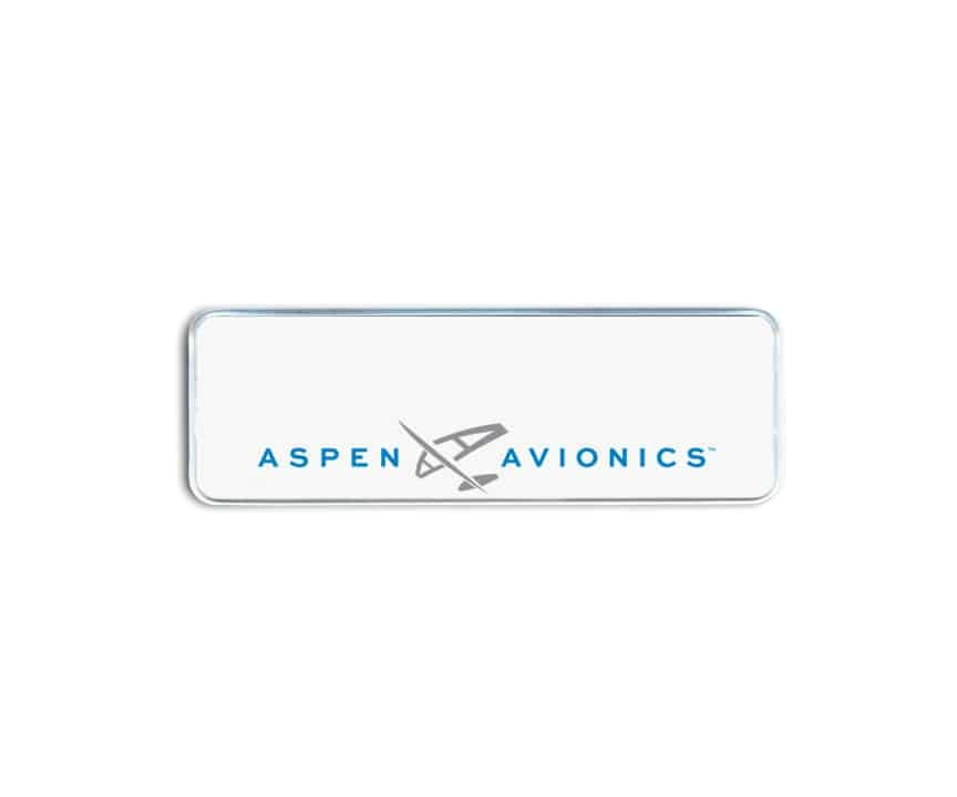Aspen Avionics Name Badges