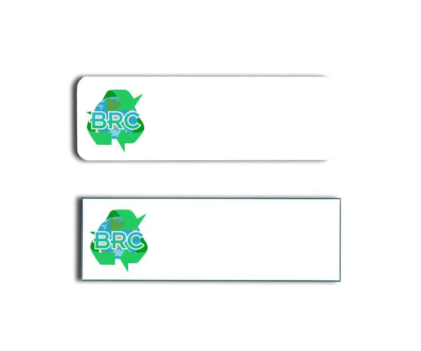 Belleflower Recycling Name Badges