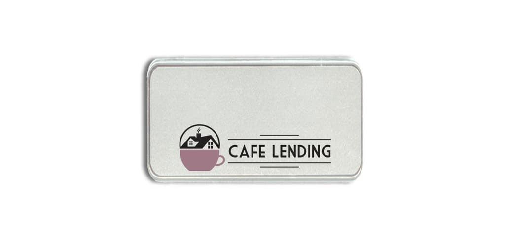 Cafe Lending Name Badges