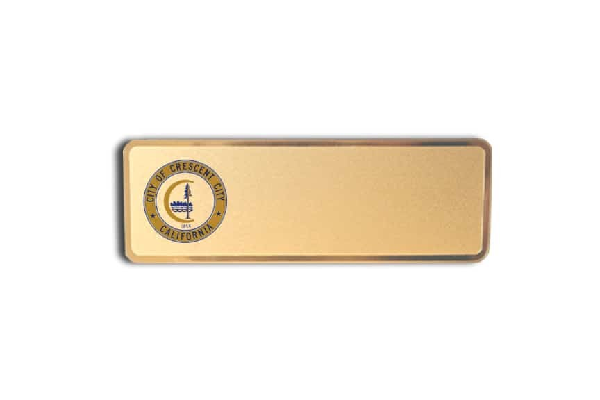 City of Crescent Name Badges