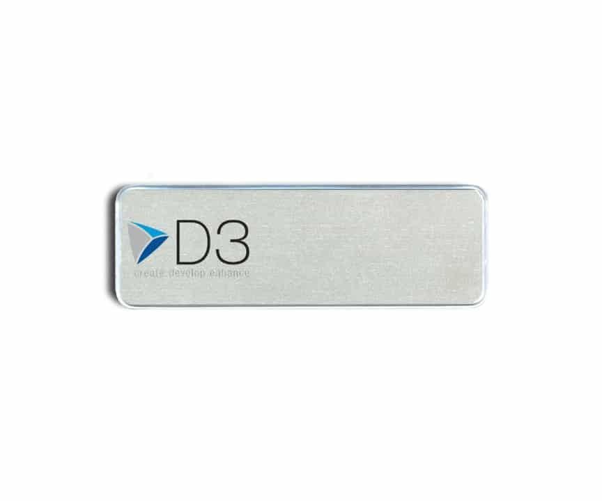 D3 LLC Name Badges