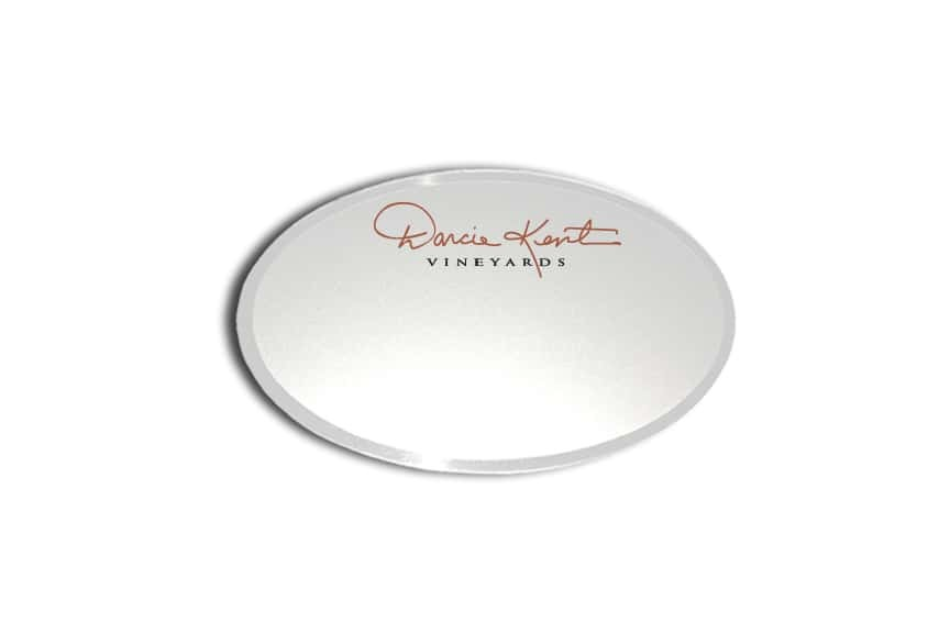 Darcie Kent Vineyards Name Badges