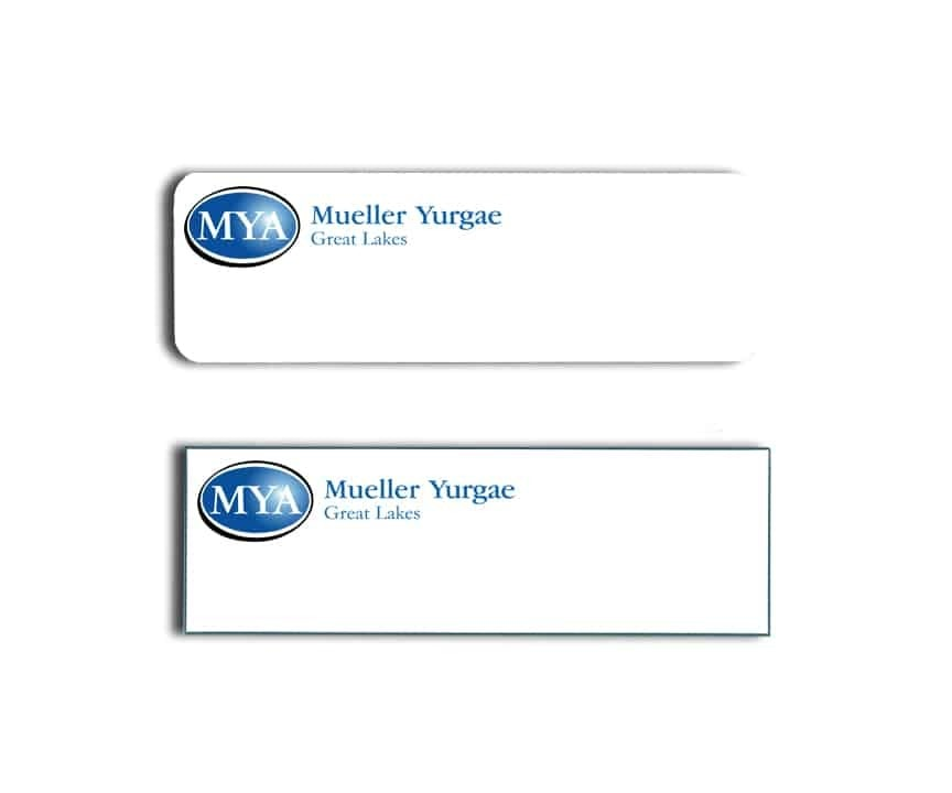 MYA Great Lakes Name Badges