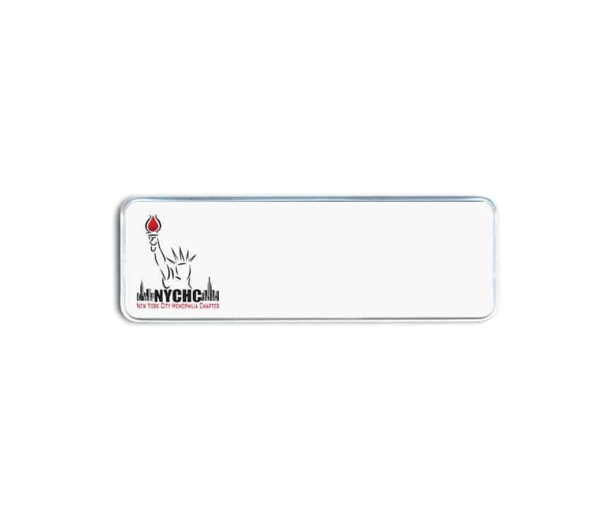 NYC Hemophilia Chapter Name Badges