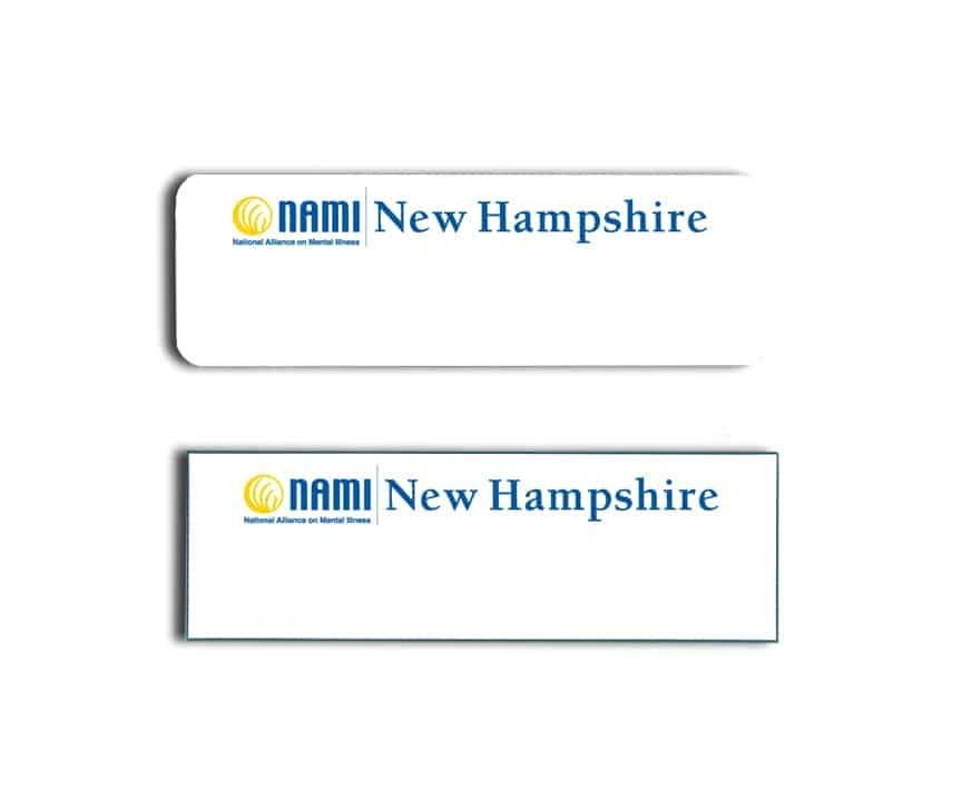 Nami New Hampshire Name Badges