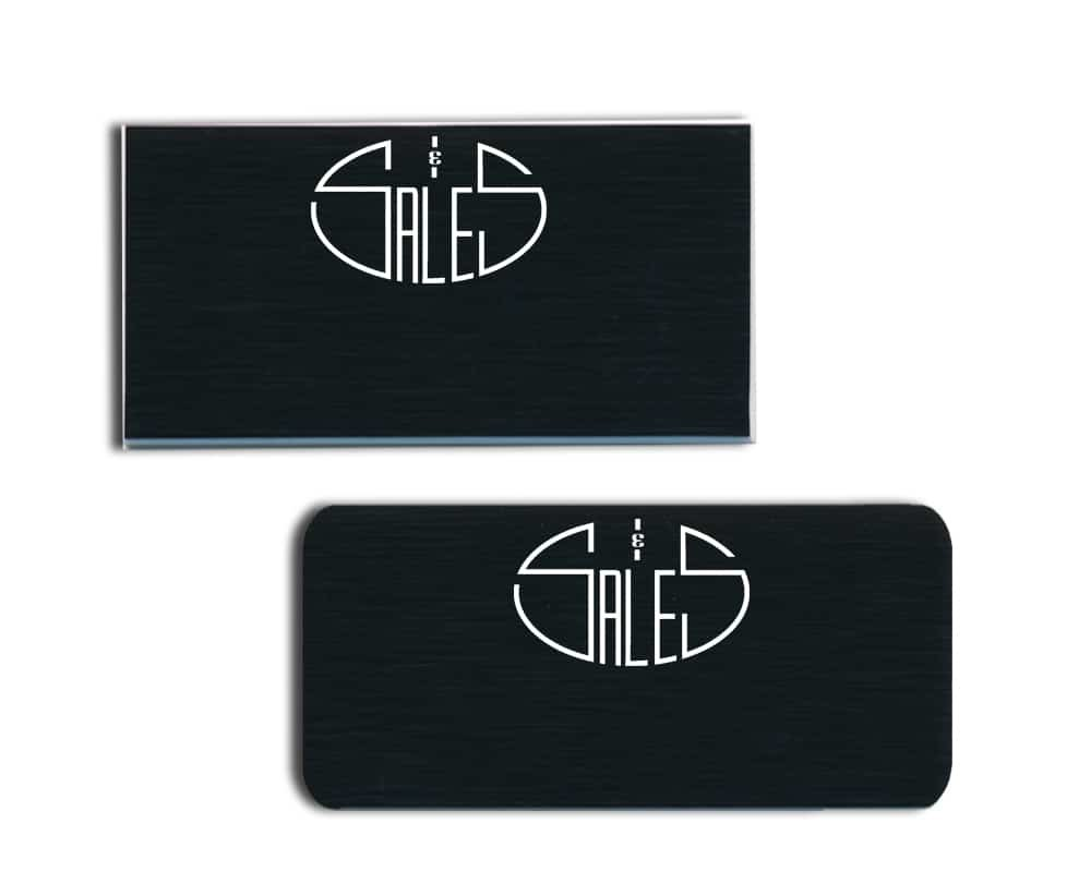 S&S Sales Name Badges