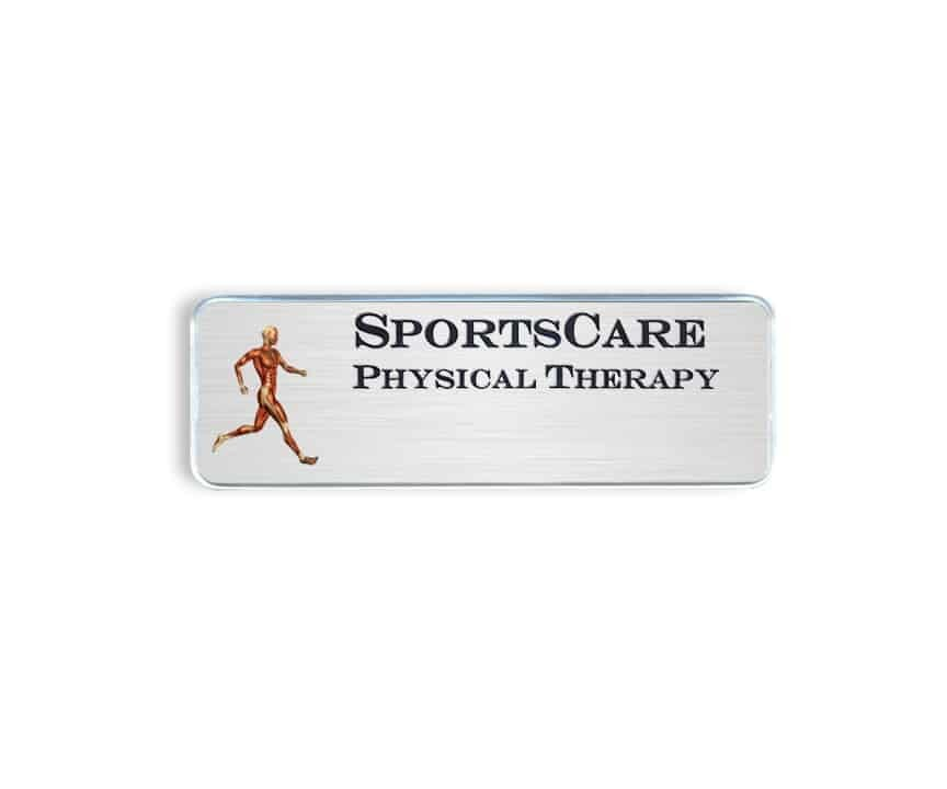 SportsCare Physical Therapy Name Badges