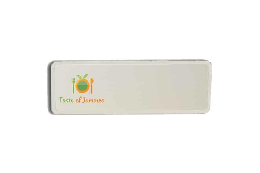 Taste of Jamaica Name Badges