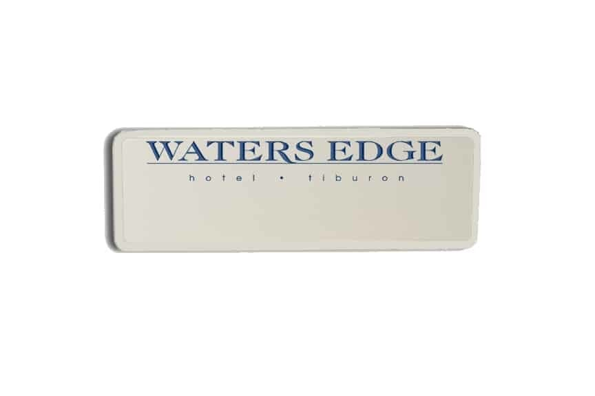 Waterse Edge Name Badges
