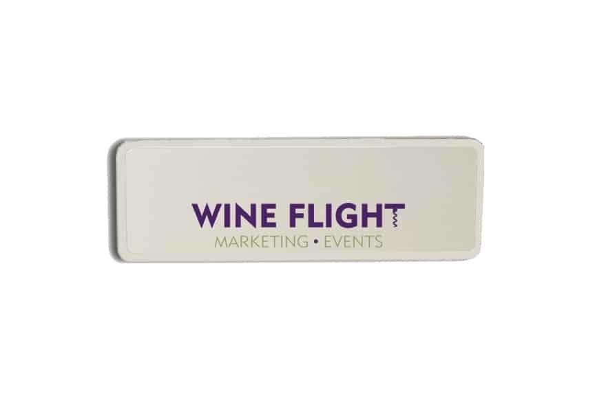 Wine Flight Name Badges