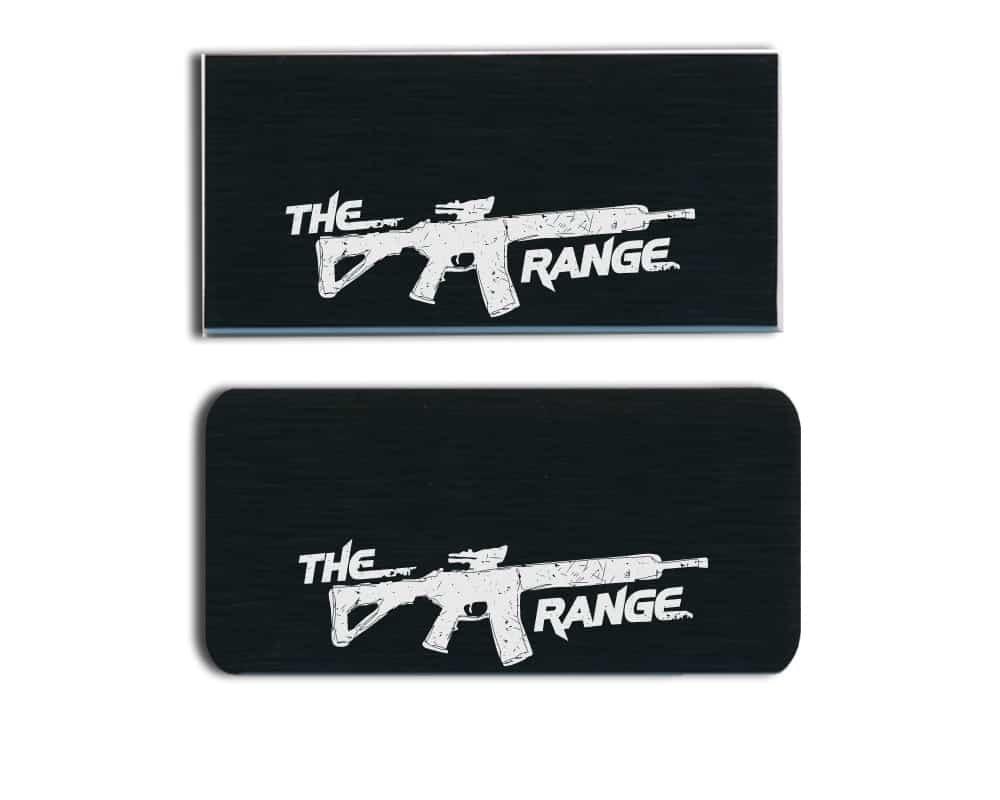 The Range LLC Name Badges