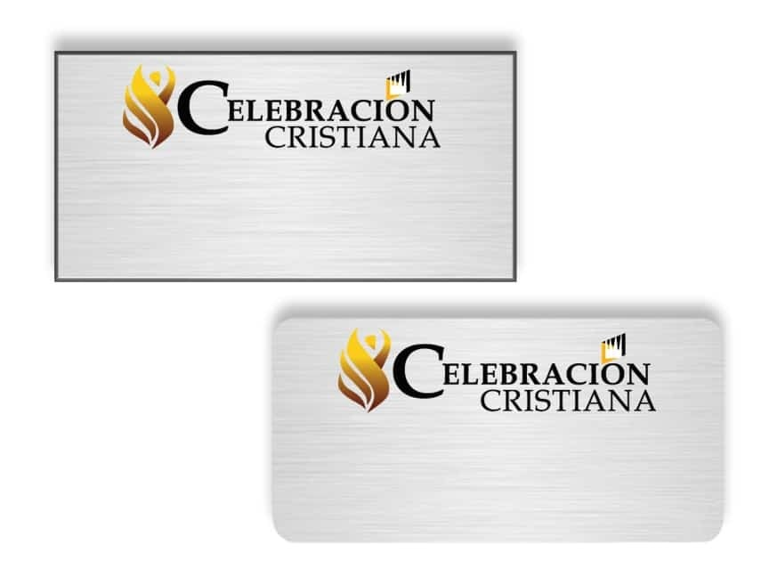 Celebracion Cristiana Name Badges