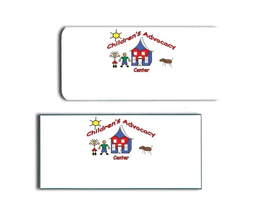 Children's Advocacy Center Name Badges
