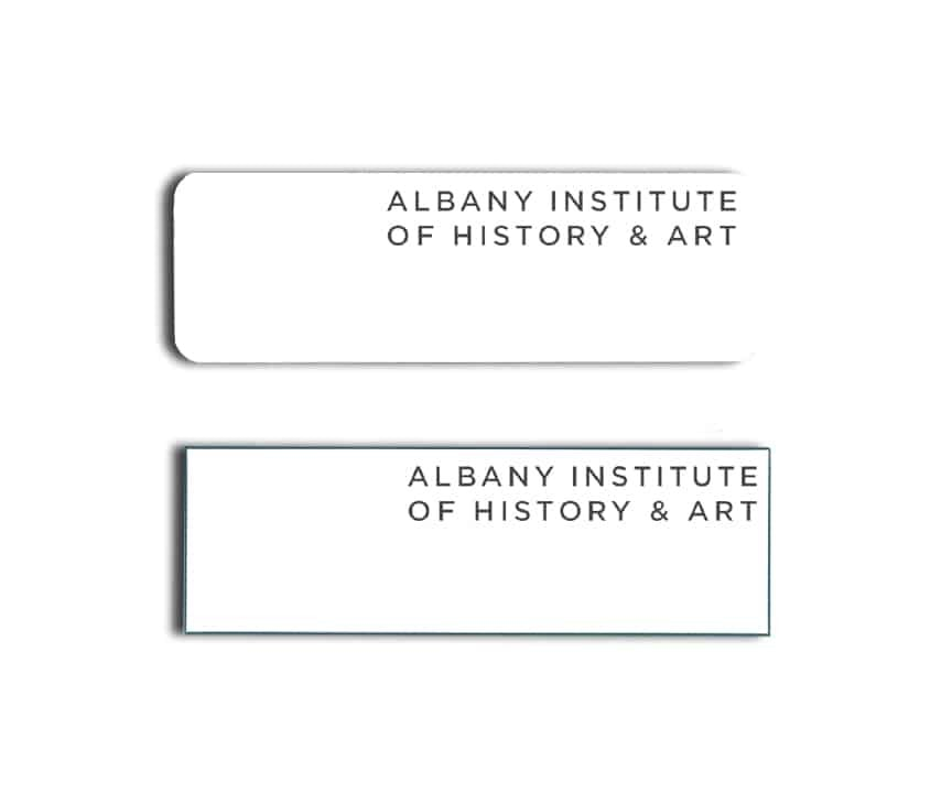 Albany Institute of History and Art Name Badges
