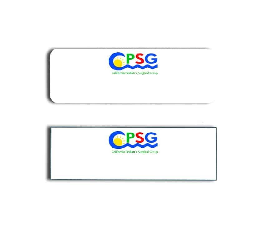 Cali Pediatric surgical group Name Badges