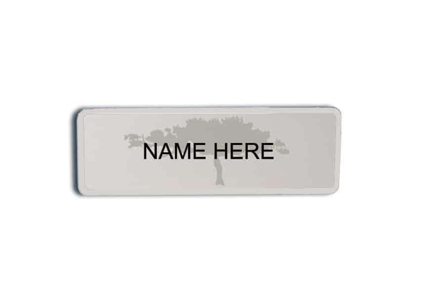 Highland Woods Name Badges