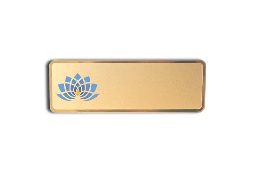 Lotus Massage Name Badges