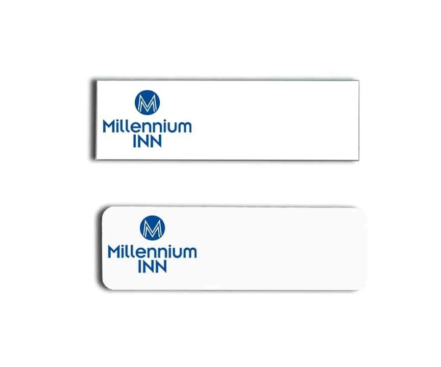 millennium inn name badges tags