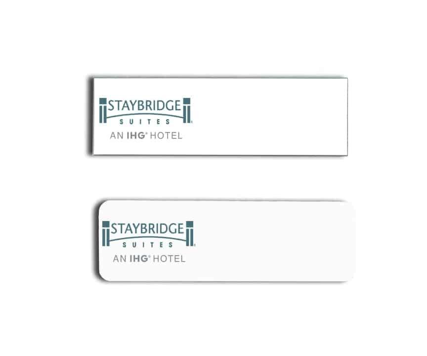 staybridge suites name badges