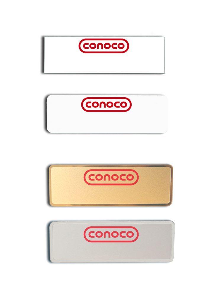 Conoco Name Badges