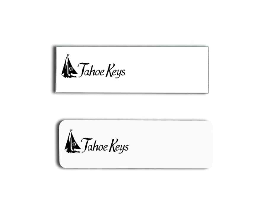 Tahoe Keys Name Badges