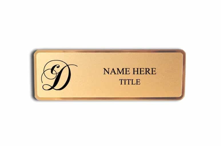 Casa Dorinda name badges