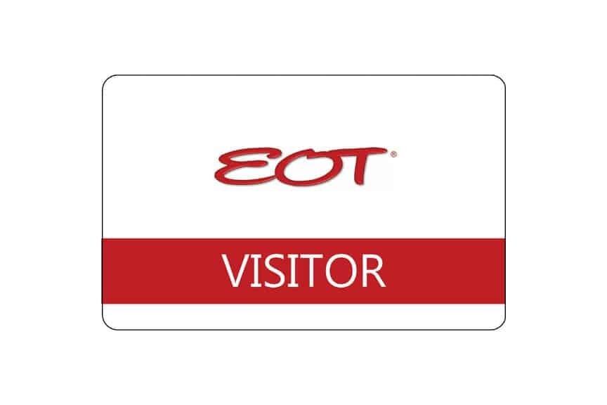 Electro-Optics Technology name badges