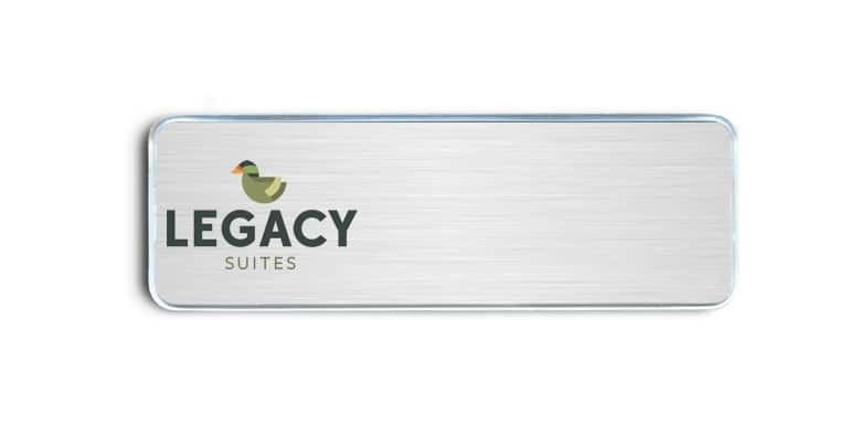 Legacy Suites name badges